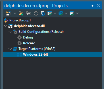 Compilar DLL en Delphi